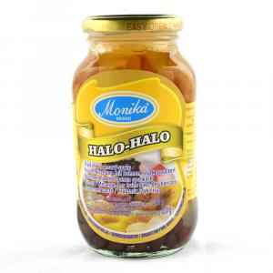 Halo-halo blandade frukter...