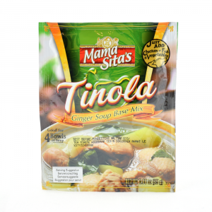 Tinola, bas för ingefärssoppa