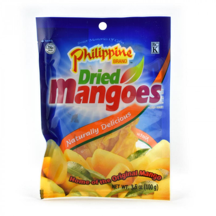 Torkad mango.