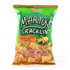 Marty's Cracklin'  med...
