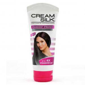 Cream Silk, standout straight