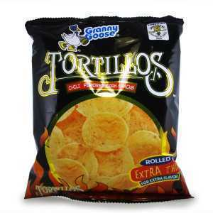Tortillos (Chili chips)