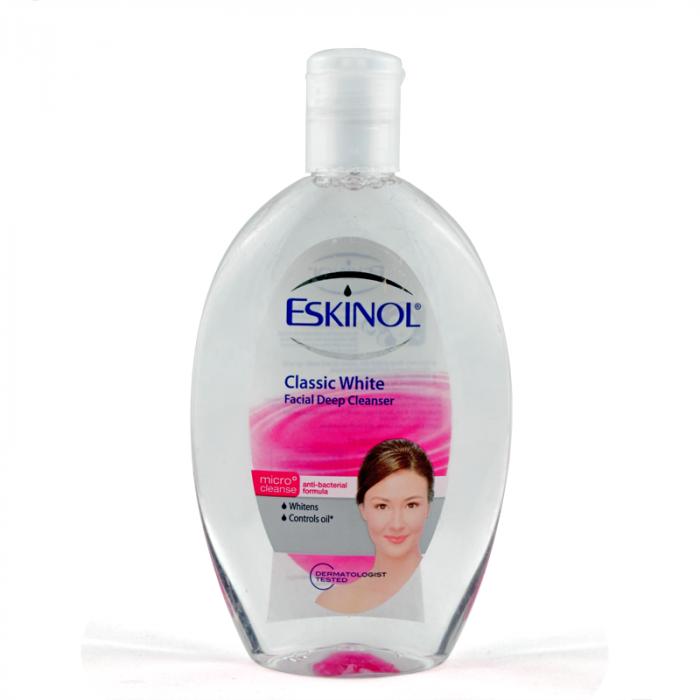 Eskinol facial cleanser, Classic White