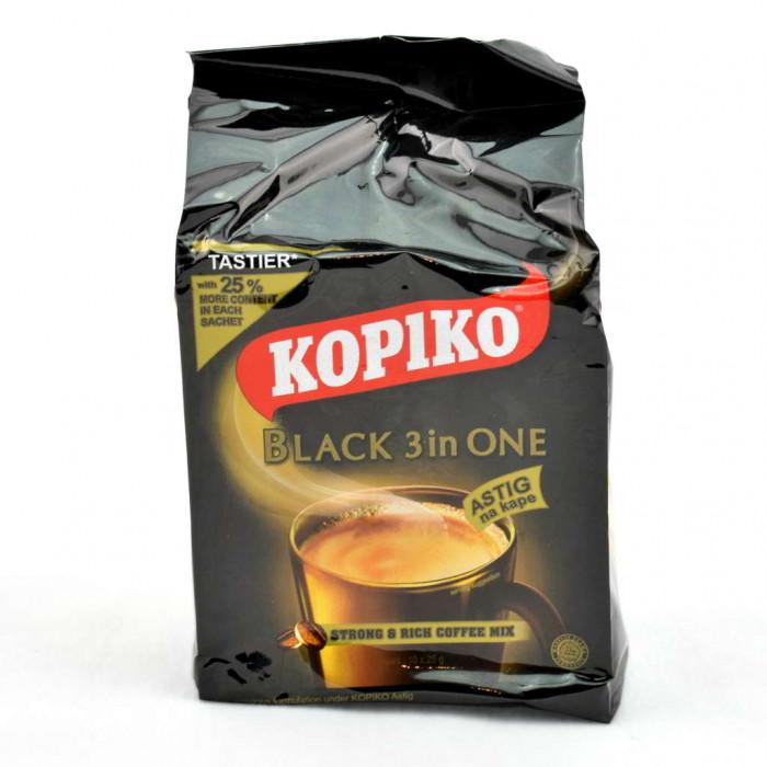 Kopiko snabbkaffe, tio portionsförpackningar