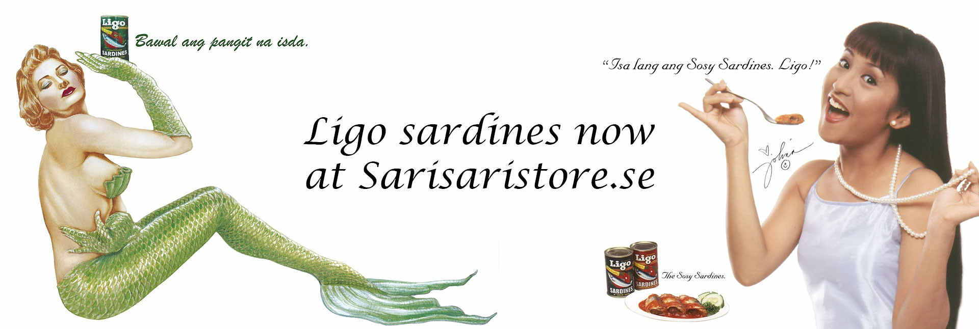 Ligo sardines, yummy!
