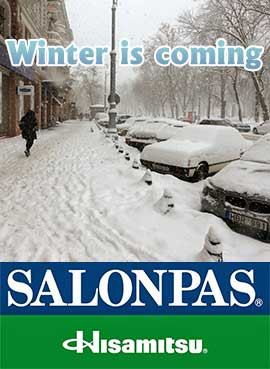 Salonpas: Vintern kommer