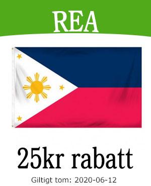 Rabatt på flagga till Filippinernas självständighetsdag